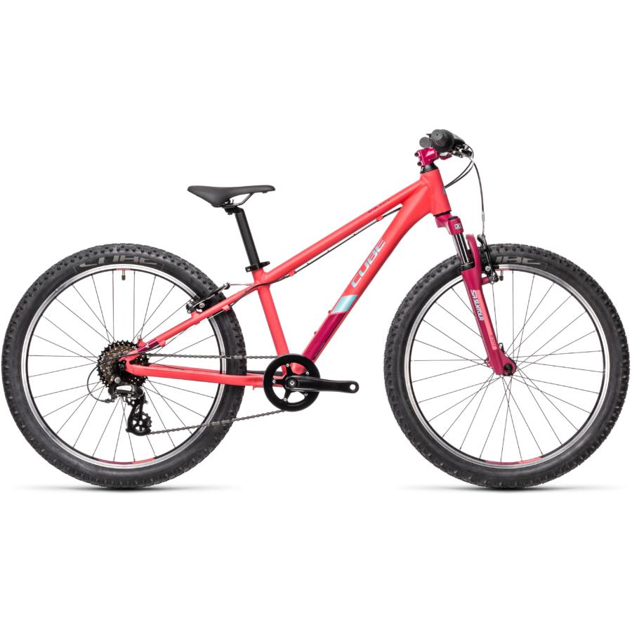 """CUBE 21 ACID 240 CORAL´N´MINT 24"""" Gyerek Kerékpár 2021"""