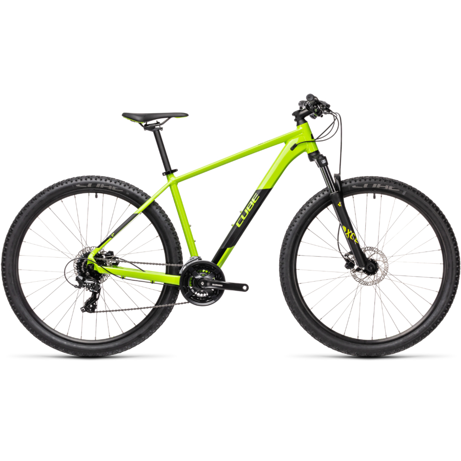 """CUBE AIM PRO GREEN´N´BLACK 29"""" Férfi MTB Kerékpár 2021"""