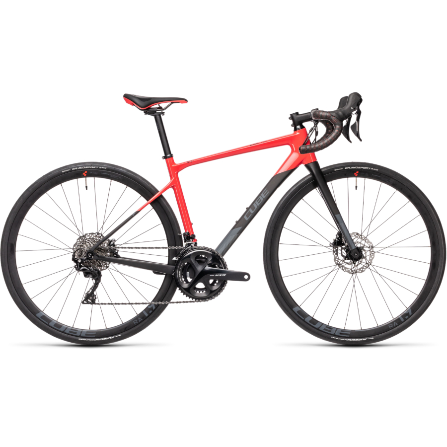 """CUBE AXIAL WS GTC PRO CARBON´N´CORAL 28"""" 2021"""