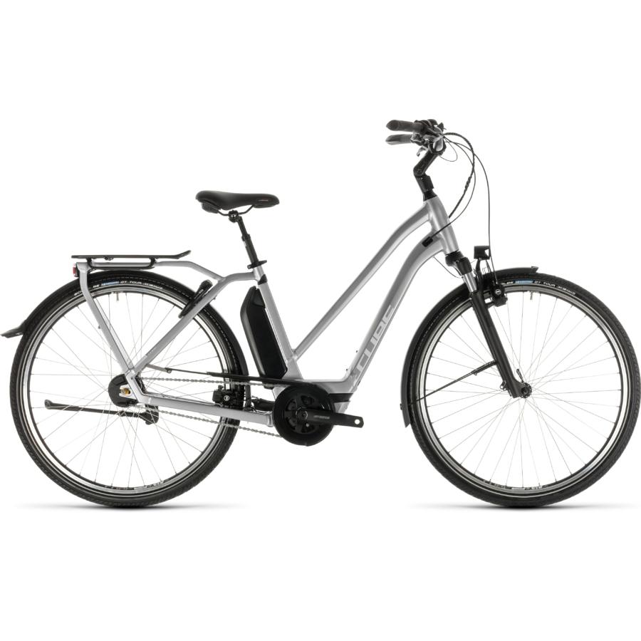 CUBE TOWN HYBRID SL 500 Trapeze Női Elektromos Városi Kerékpár 2019