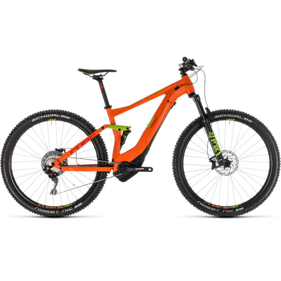 CUBE STEREO HYBRID 120 Race 500 29 Férfi Elektromos Összteleszkópos MTB Kerékpár 2019 - Több Színben