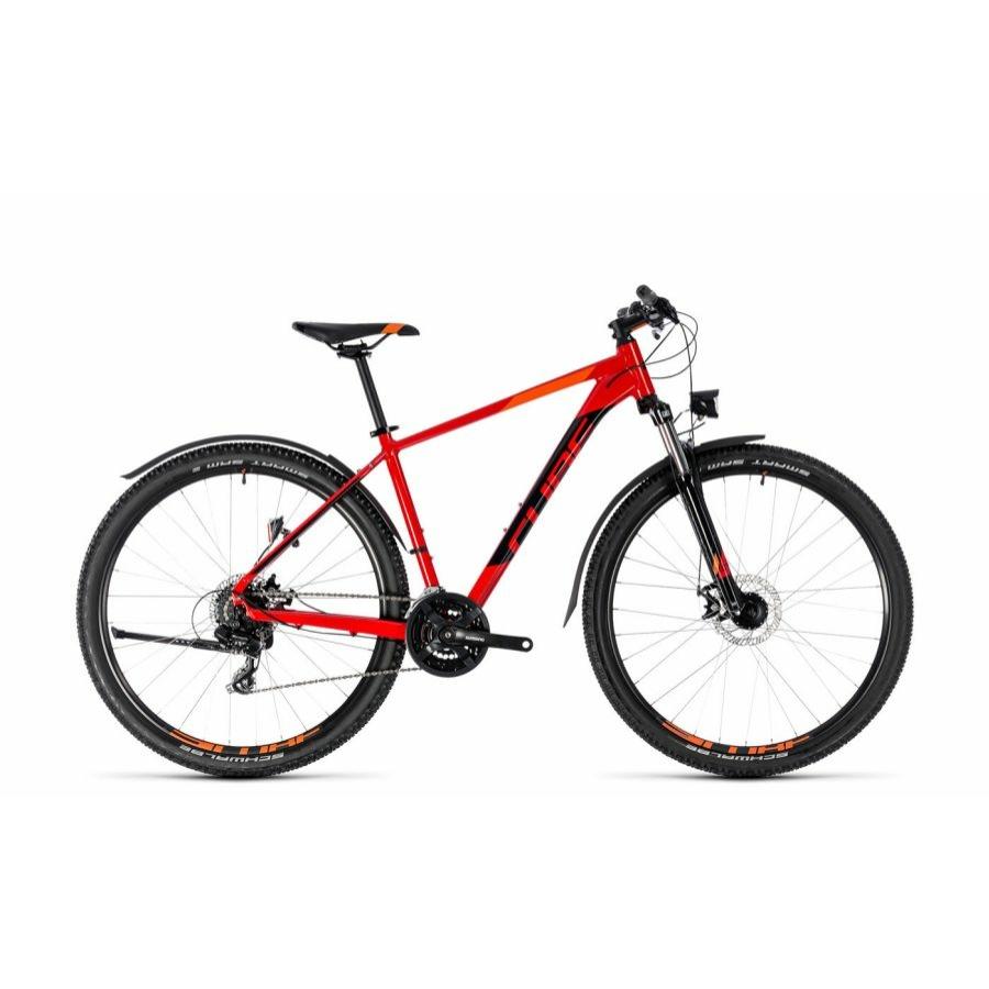 """CUBE AIM ALLROAD RED´N´BLACK 2018 27,5"""" és 29"""" MTB Kerékpár"""