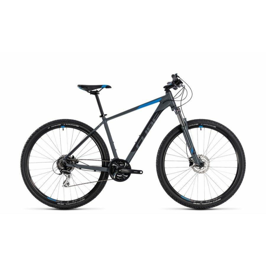 """CUBE AIM RACE GREY´N´BLUE 2018 27,5"""" és 29"""" MTB Kerékpár"""