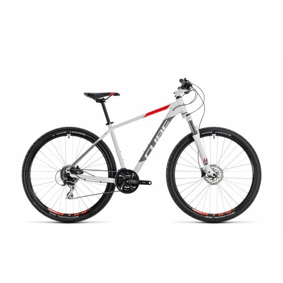 """CUBE AIM RACE WHITE´N´RED 2018 27,5"""" és 29"""" MTB Kerékpár"""