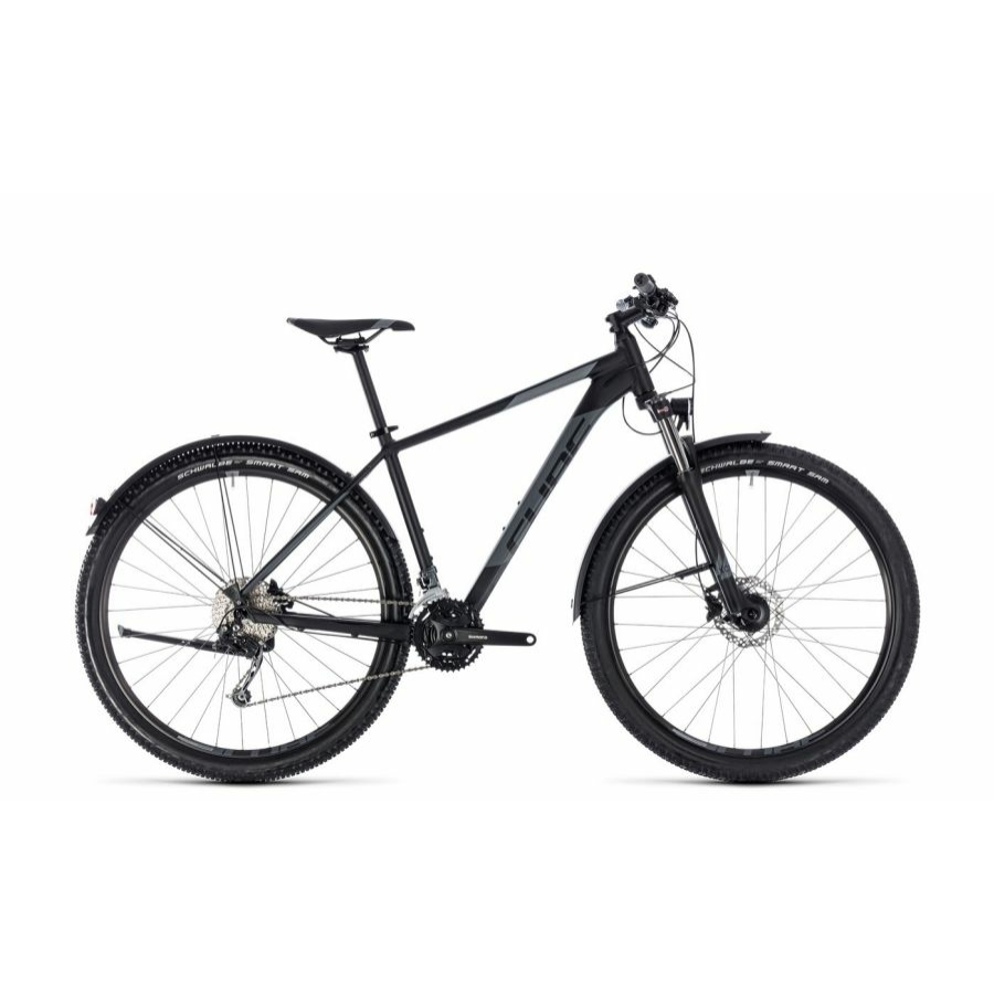 """CUBE AIM SL ALLROAD BLACK´N´GREY 2018  27,5"""" és 29"""" MTB Kerékpár"""