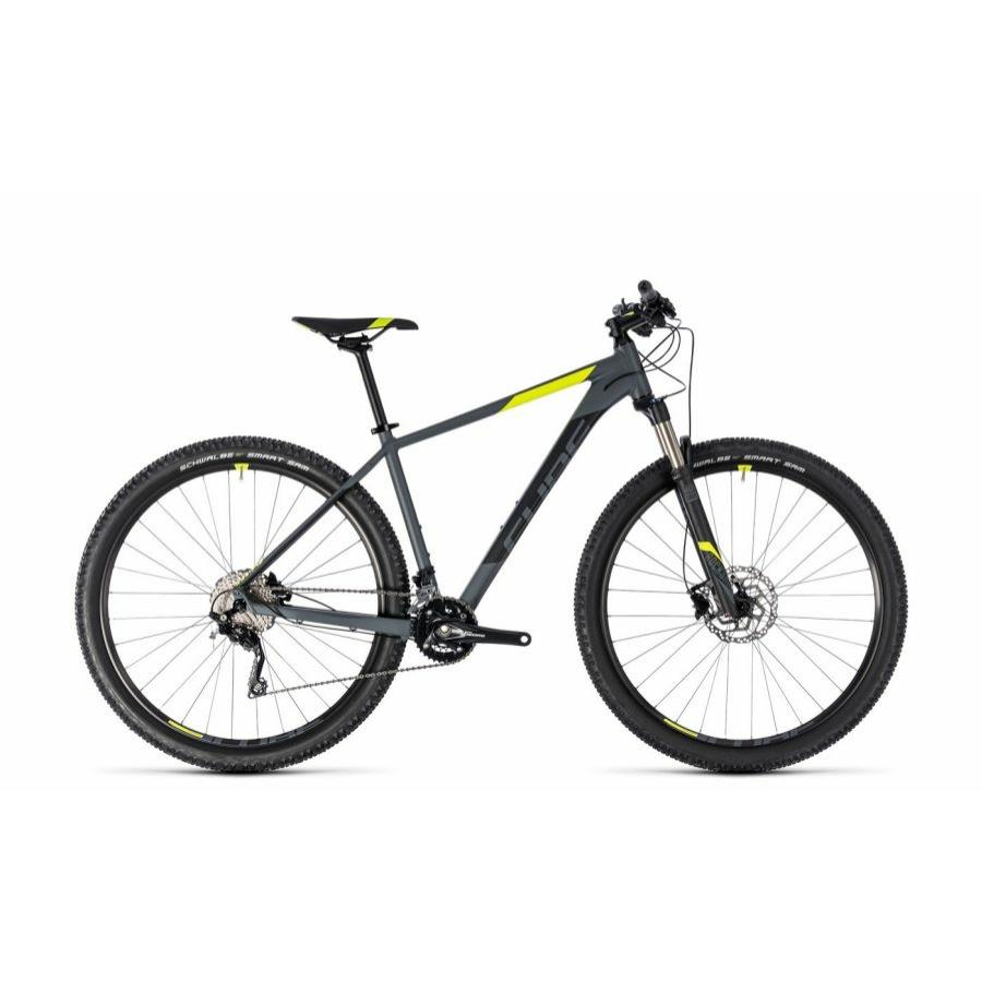 """CUBE ATTENTION SL GREY´N´FLASHYELLOW 2018 29"""" MTB Kerékpár"""