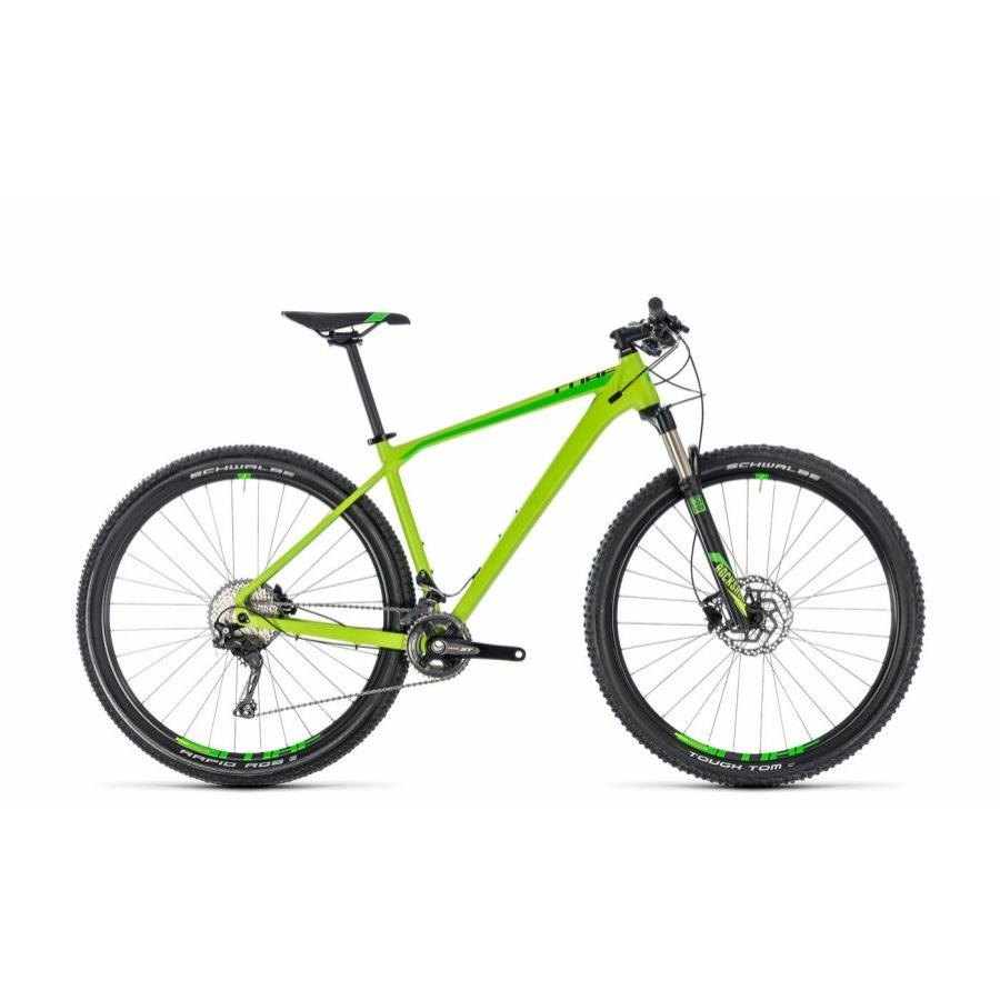 """CUBE REACTION PRO GREEN´N´BLACK 2018 29"""" MTB Kerékpár"""