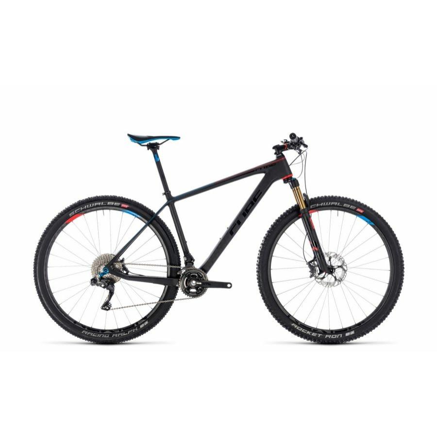 CUBE ELITE C:68 SLT ZEROBLACK Férfi MTB Kerékpár 2018