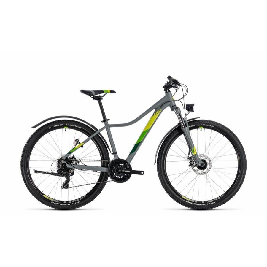 """CUBE ACCESS WS ALLROAD GREY´N´GREEN 2018 27,5"""" Női MTB Kerékpár"""
