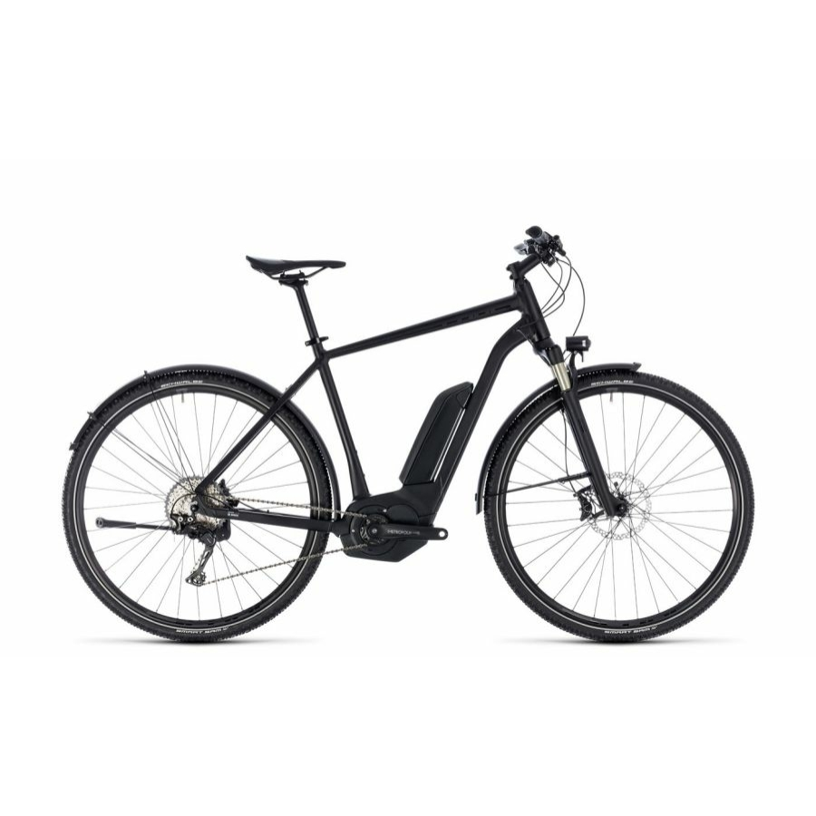 CUBE CROSS HYBRID SL ALLROAD 500 BLACK EDITION 2018 Elektromos Kerékpár