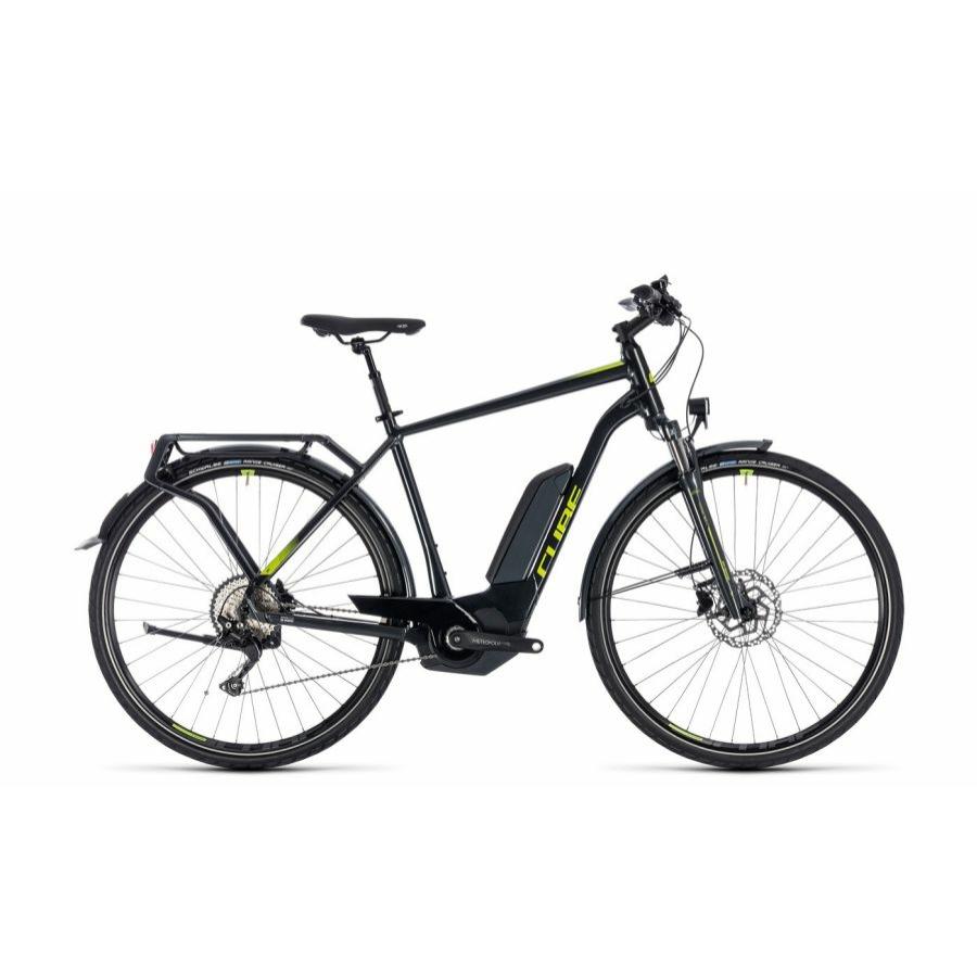 CUBE KATHMANDU HYBRID PRO 500 IRIDIUM´N´GREEN 2018 Elektromos Kerékpár