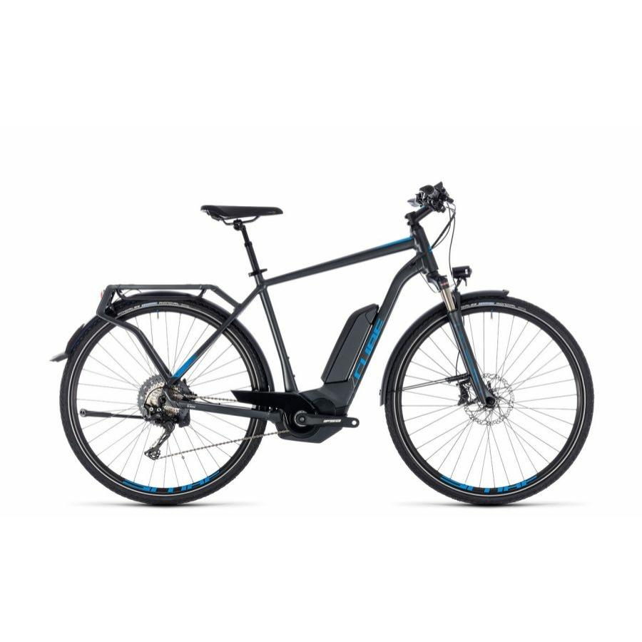 CUBE KATHMANDU HYBRID EXC 500 IRIDIUM´N´BLUE 2018 Elektromos Kerékpár