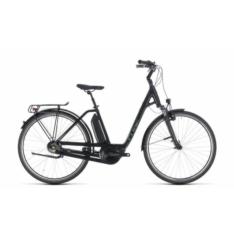 CUBE TOWN HYBRID ONE 500 BLACK´N´FROSTGREEN 2018 Elektromos Kerékpár