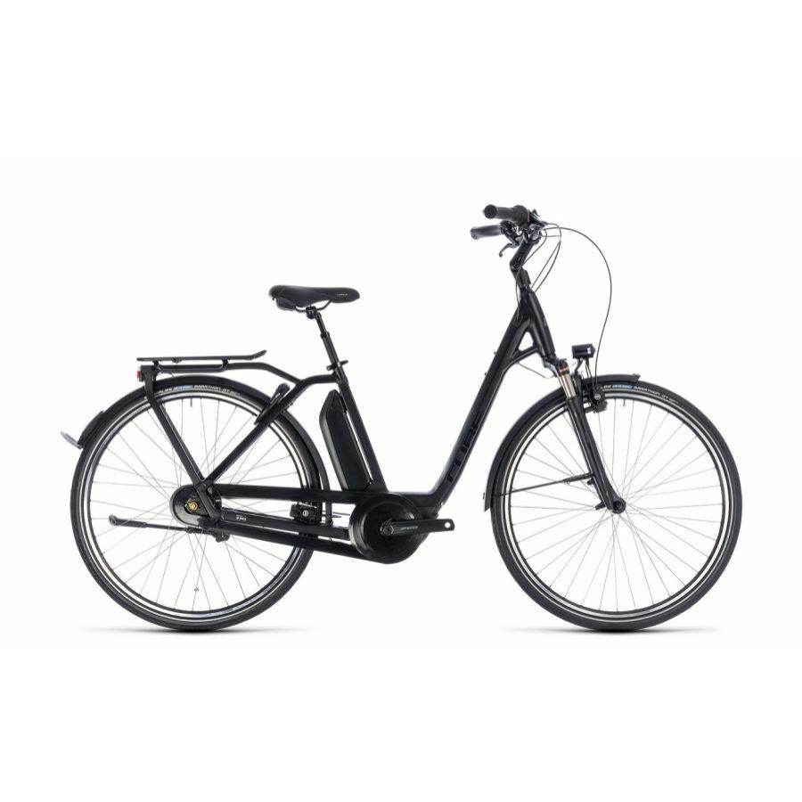 CUBE TOWN HYBRID PRO RT 500 BLACK´N´GREY 2018 EASY ENTRY Elektromos Kerékpár