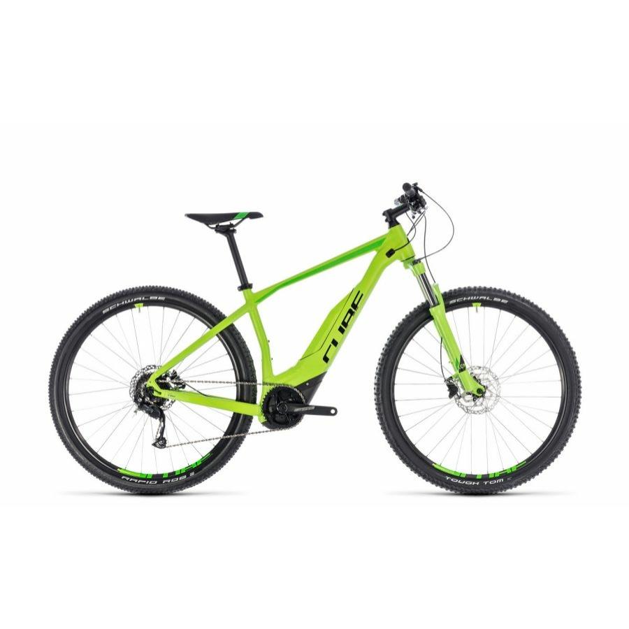 CUBE ACID HYBRID ONE 500 29 GREEN´N´BLACK 2018 Elektromos Kerékpár