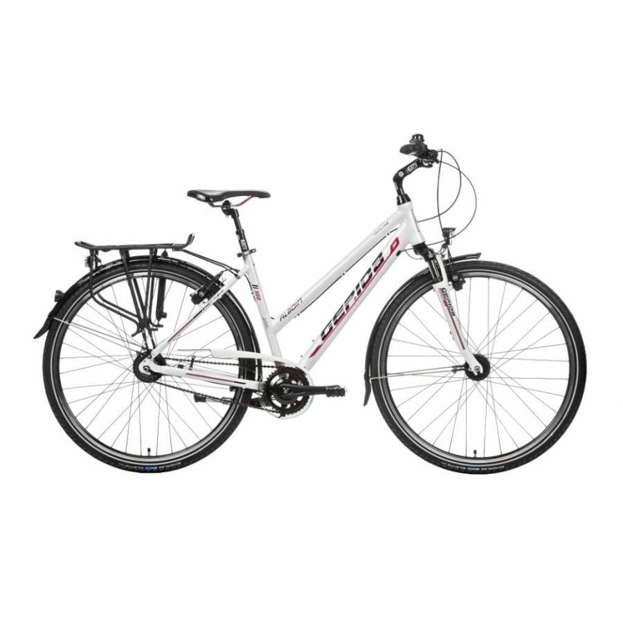 Gepida Alboin 300 női hidraulikus Magura fékkel 8s Nexus agyváltóval Trekking/ Városi kerékpár
