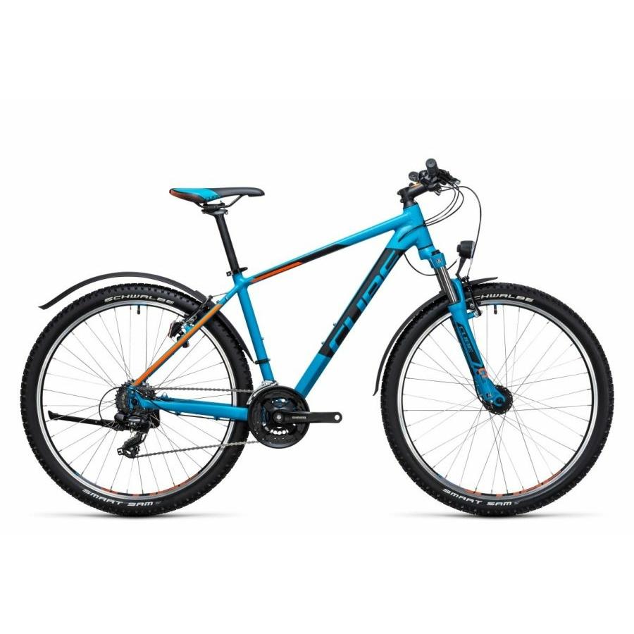 "Cube Aim Allroad blue´n´flashorange 2017, 27,5"" MTB Kerékpár"