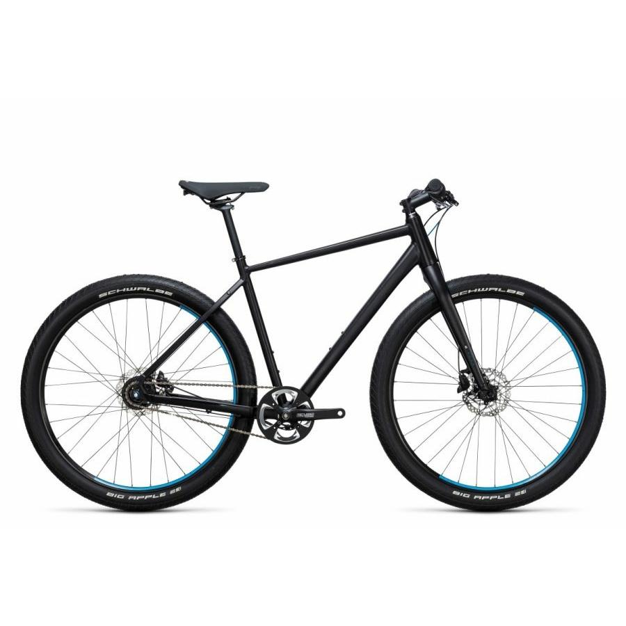 Cube Hyde Pro black´n´blue 2017 Városi/ Fitnesz kerékpár