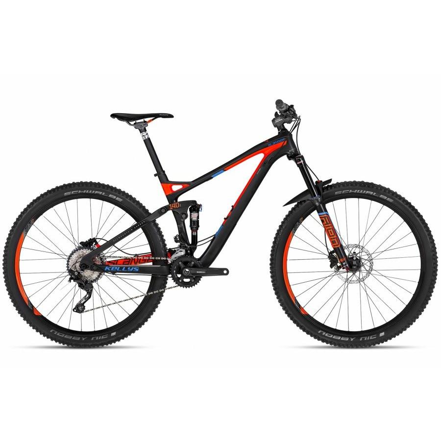 """Kellys Slanger 10 29"""" Férfi Összteleszkópos MTB Kerékpár 2018"""