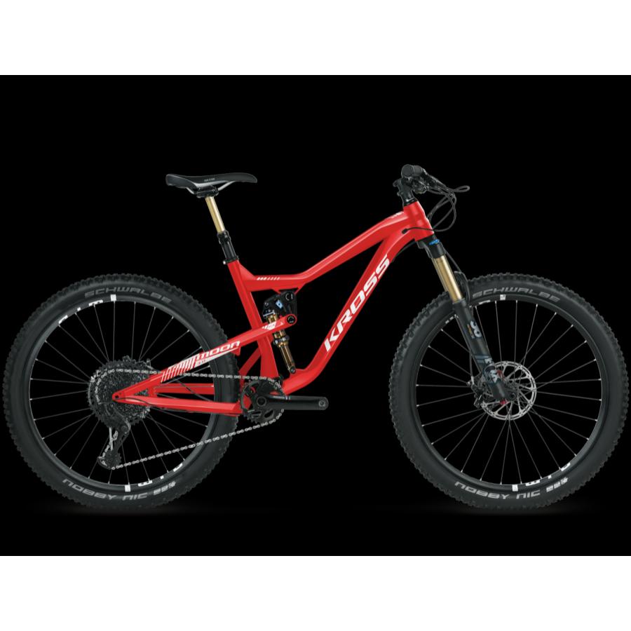 """Kross Moon 3.0 2018 27,5"""" Összteleszkópos MTB Kerékpár"""