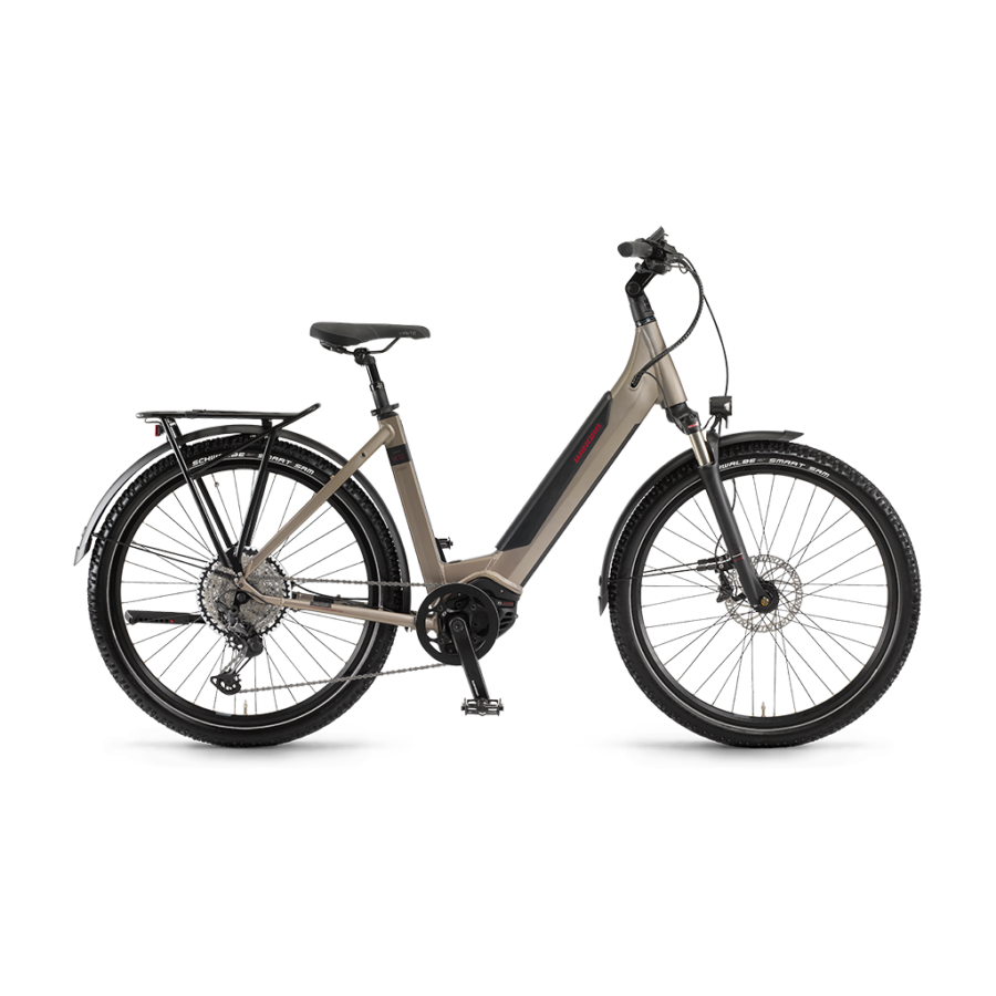 """Winora Sinus iX12 Einrohr i500Wh 27,5"""" 12-G XT  elektromos kerékpár - 2020"""